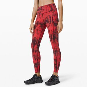 """lululemon Game Day Fast and Free Tight 25"""" size 4"""